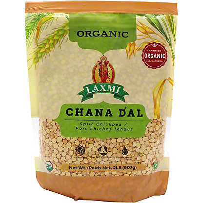 Laxmi Organic Chana Dal, 2 lb