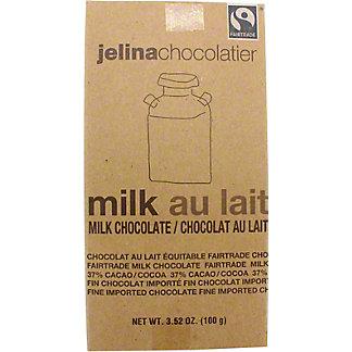 Jelina Pure Milk Chocolate Bar, 3.52 OZ