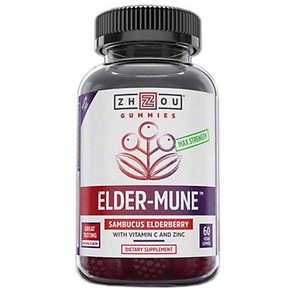 Zhou Elder Mune Elderberry Gummies, 60 ct