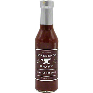 Horseshoe Brand Chipotle Hot Sauce, 8 OZ