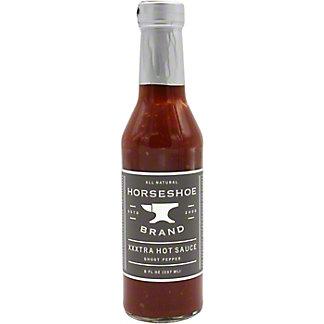 Horseshoe Brand Xxxtra Hot Sauce, 8 OZ