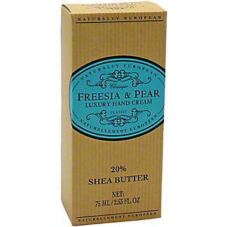 Naturally European Freesia & Pear Hand Cream, 3.4 OZ