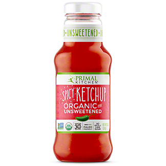 Primal Kitchen Organic Spicy Ketchup Unsweetened, 11.3 oz