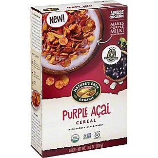 Natures Path Organic Purple Acai Cereal, 10.6 oz