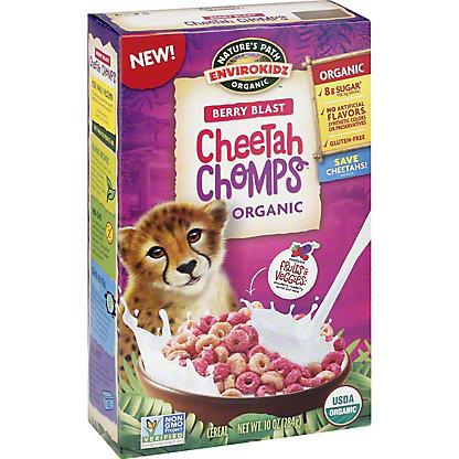 Natures Path EnviroKidz Cheetah Chomp Cereal, 10 oz