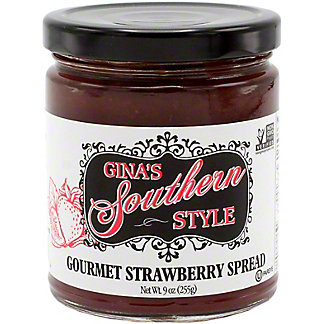 Gina's Southern Style Strawberry Spread , 9 OZ