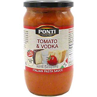 Ponti Sauce Pasta Tomato Vodka, 24.3 oz