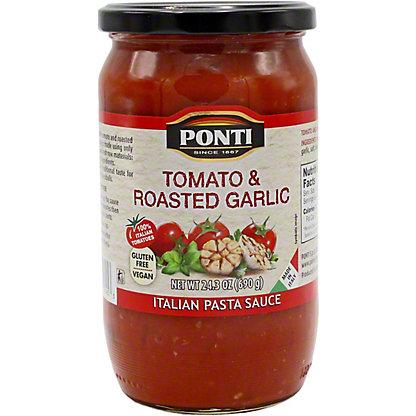 Ponti Sauce Pasta Tomato Roasted Garlic, 24.3 OZ