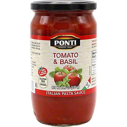 Ponti Sauce Pasta Tomato Basil, 24.3 OZ