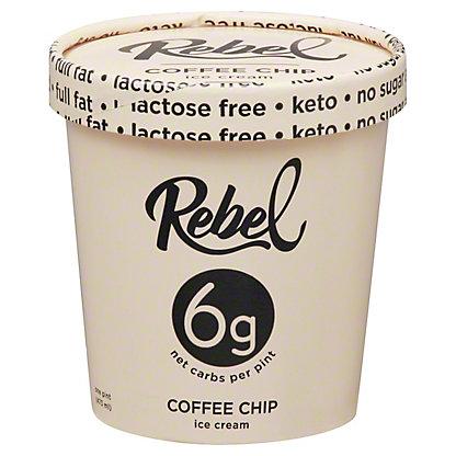 Rebel Coffee Chip Ice Cream, 1 pt