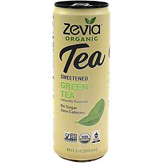 Zevia Organic Sweetened Green Tea, 12 oz