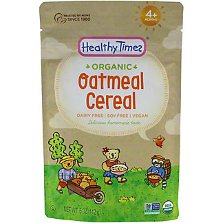 Healthy Times Organic Oatmeal Cereal, 5 OZ