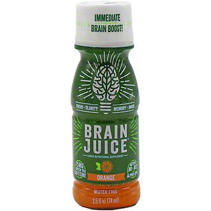 Brainjuice Orange Caffeinated, 2.5 OZ