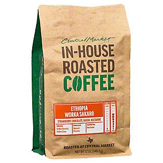 Central Market In-House Roasted Ethioipa Worka Sakaro, 12 oz