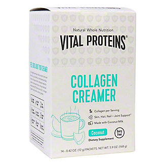 Vital Proteins Coconut, Single Serve Collagen Creamer Box, 14 ct