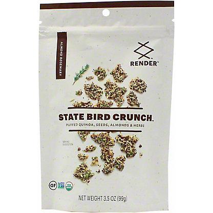 Render State Bird Almond Rosemary Crunch, 3.5 oz