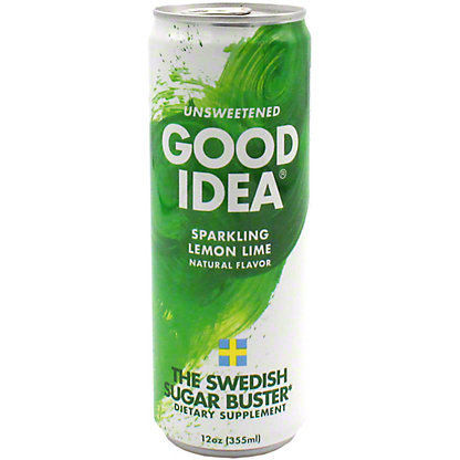 Good Idea Sparkling Lemon Lime Energy, 12 oz