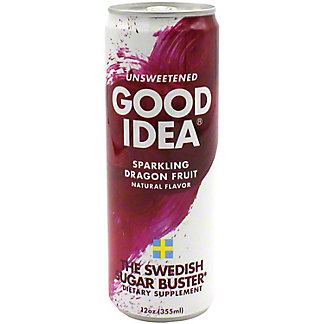 Good Idea Sparkling Dragon Fruit Energy, 12 oz