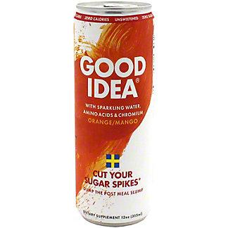 Good Idea Sparkling Orange Mango Energy, 12 oz