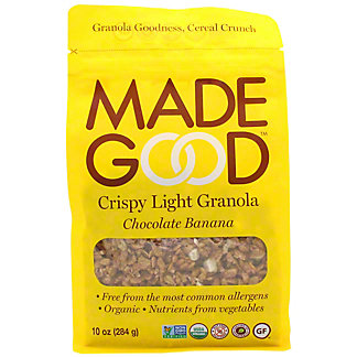 Made Good Light Granola Chocolate Banana Pouch, 10 oz