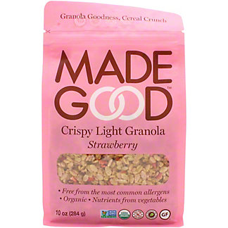 Made Good Light Granola Strawberry Pouch, 10 oz