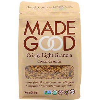 Made Good  Light Granola Cocoa Crunch Pouch, 10 oz