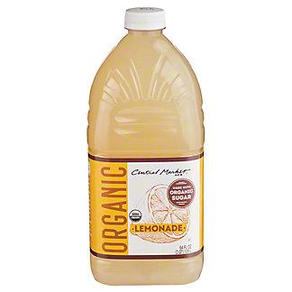 Central Market Organic Lemonade, 64 oz