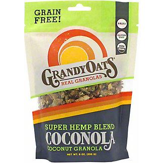 GrandyOats Coconola Hemp Blend, 9 oz