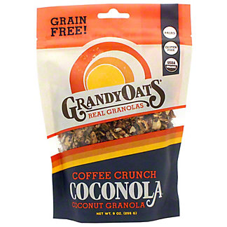 GrandyOats Granola Coffee Crunch, 9 OZ