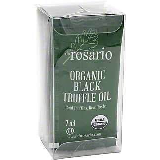Darosario Organic Black Truffle Oil Packets, 1.97 oz