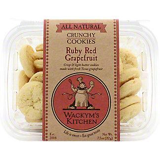 Wackym's Ruby Red Grapefruit Cookies, 7.5 OZ