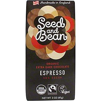 Seed And Bean Espresso - 58% Cocoa, 3 OZ