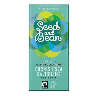 Seed And Bean Cornish Sea Salt & Lime, 3 OZ