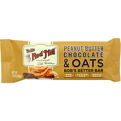 Bobs Red Mill Oat Peanut Butter Chocolate, 1.76 OZ