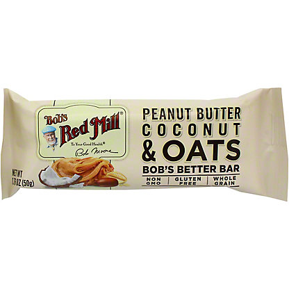 Bobs Red Mill Oat Peanut Butter Coconut, 1.76 OZ