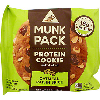 Munk Pack Protein Oatmeal Raisin, 2.96 oz