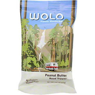Wolo Protein Bar Peanut Butter, 1.87 oz