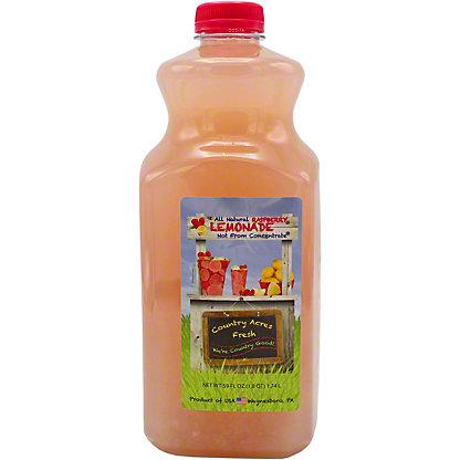 Country Acres Raspberry Lemonade, 59 OZ