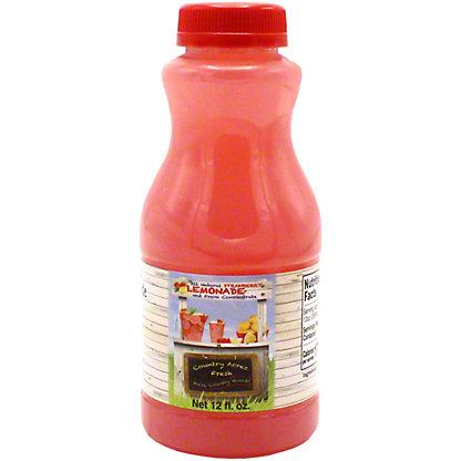 Country Acres Strawberry Lemonade, 12 OZ