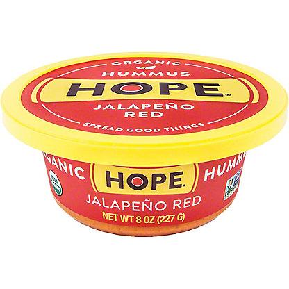 Hope Hummus Jalapeno Red Organic Hummus, 8 oz