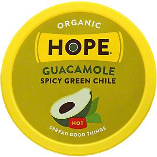 Hope Hummus Guacamole Chili Green Hot, 8 oz