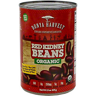 Dunya Harvest Red Kidney Beans Organic, 15 oz