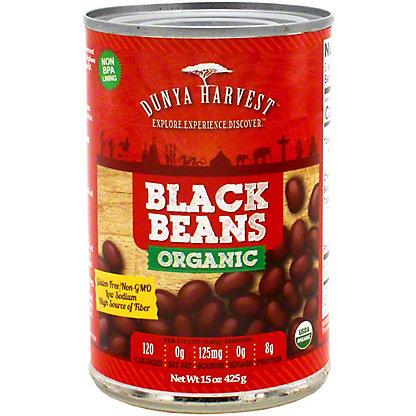 Dunya Harvest Black Beans Organic, 15 oz