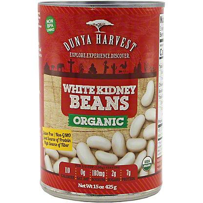 Dunya Harvest White Kidney Beans Organic, 15 oz