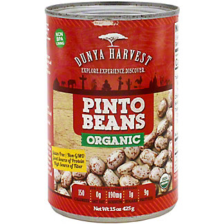 Dunya Harvest Pinto Beans Organic, 15 oz