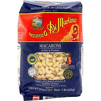 Pastificio G. Di Martino Macaroni Pasta, 16 oz