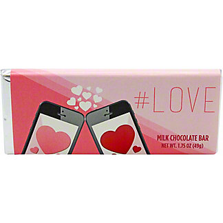 #Love Milk Chocolate Bar , 1.75 oz
