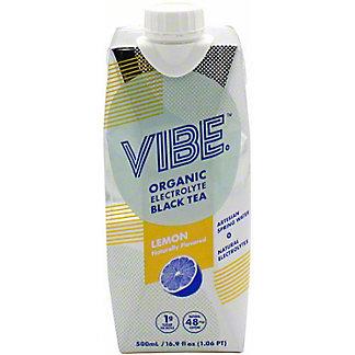 Vibe Black Tea Lemon, 16.9 oz