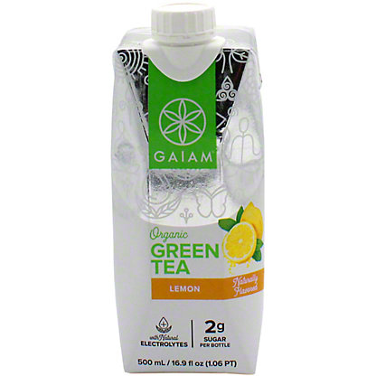 Gaiam Green Tea Lemon, 16.9 oz
