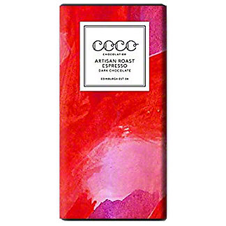 Coco Chocolatier Artisan Roast Espresso Dark Chocolate, 80 g